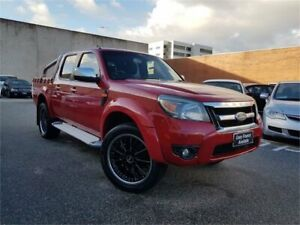 2011 Ford Ranger PK XLT (4x4) Red 5 Speed Automatic Dual Cab Pick-up Osborne Park Stirling Area Preview