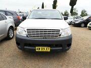 2008 Toyota Hilux TGN16R MY09 Workmate White Manual Utility Mount Druitt Blacktown Area Preview