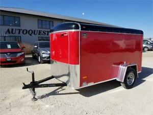 "RC Trailers 5' x 10' x 60"" Enclosed Cargo Trailer - 2990k"