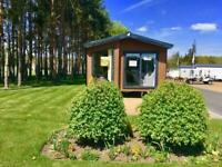 Luxury residential spec Willerby Waverley Lodge for sale at Witton Castle.