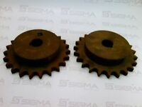 "Martin 60BS23 1"" Bore Single Chain Sprocket 23 Teeth (Lot of 2)"
