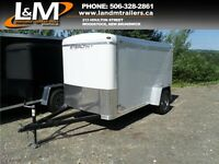 NEW 5X10' STEALTH ENCLOSED CARGO TRAILER