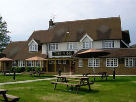 Full Time Chef - Live In or Out - Up to £8.00 per hour - The Vine, Waltham Cross, Hertfordshire