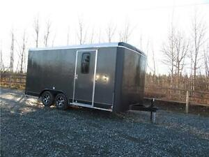 2017 8.5' x 16' CARGO TRAILER WITH RAMP