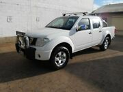 2008 Nissan Navara D40 ST-X White 6 Speed Manual Utility Beverley Charles Sturt Area Preview