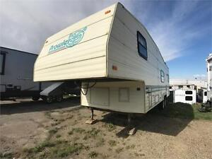 1994 FLEETWOOD PROWLER 275CKS Air Conditioning, 5th Wheel