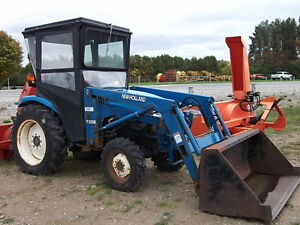 New Holland TC29D Tractor & 7308 Loader