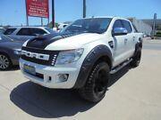 2014 Ford Ranger PX XLT White Sports Automatic Utility Granville Parramatta Area Preview