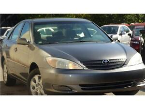2002 Toyota Camry LE accident free
