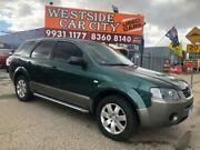 2006 Ford Territory SY SR (RWD) Green 4 Speed Auto Seq Sportshift Wagon Hoppers Crossing Wyndham Area Preview