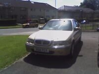 reluctant sale rover 45 ive had for 8yrs reliable