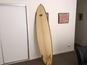 Surfboard hand made in Balsa Merrimac Gold Coast City Preview