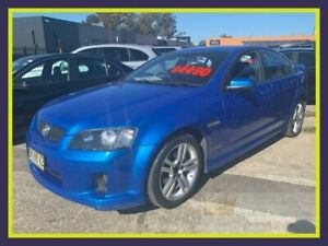 2010 Holden Commodore VE II SV6 Blue Sports Automatic Sedan Lansvale Liverpool Area Preview
