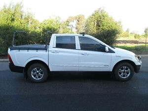 2007 Ssangyong Actyon C100 A200 XDI White 4 Speed Automatic Wagon Hoppers Crossing Wyndham Area Preview