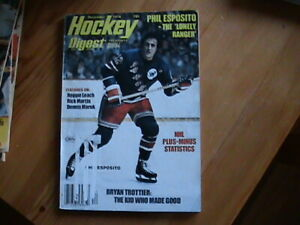 Vintage Hockey Digest Magazines