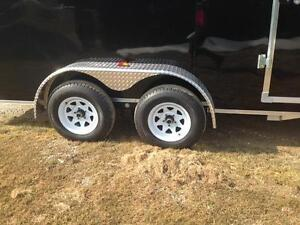 Tandem Axle ALL ALUMINUM Thunder- FACTORY DISCOUNTS- $110/month! London Ontario image 2