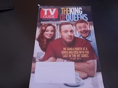 The King Of Queens  Winona Ryder   Tv Guide Magazine 2002