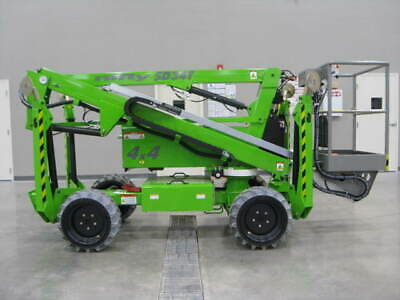 New 2020 Niftylift Sd34tde 40 Work Height Track Drive Bi-energy 4wd