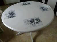 Shabby Chic kitchen table with 4 chairs REDUCED!