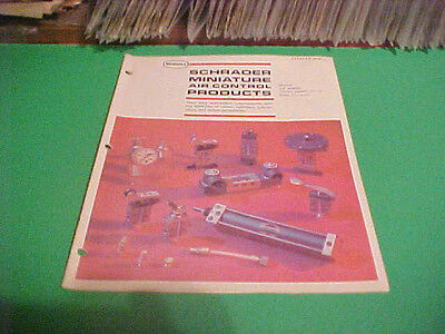 1970 Sweets Equipment Catalog Booklet Scovill Schrader Mini Air Control Product