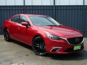 2016 Mazda 6 GJ1032 Atenza SKYACTIV-Drive Red 6 Speed Sports Automatic Sedan