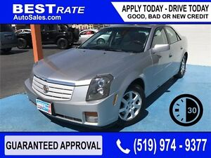 CADILLAC CTS - APPROVED IN 30 MINUTES! - ANY CREDIT LOANS