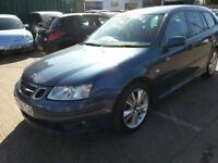 SAAB 9-3 SPORTSWAGON 2006 REG LEATHER ALLOYS 12 MONTHS MOT