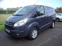 FORD TRANSIT CUSTOM 270 LIMITED E-TECH - FSH - Grey Manual Diesel, 2014