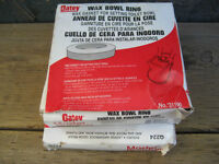 wax toilet  bowl rings. 3 pcs. Brand new $6 for 3