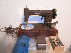 Vintage National Princess Featherweight Style Sewing Machine