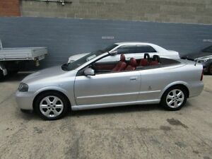 2004 Holden Astra TS Convertible Ltd Ed Silver 4 Speed Automatic Convertible Leichhardt Leichhardt Area Preview