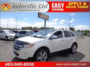 2011 Ford Edge AWD Limited Nav BCam P.Sunroof 2DVD