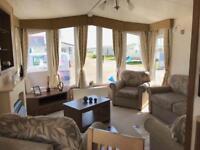 Luxury pre owned 6 berth static caravan on Ayrshire Coast