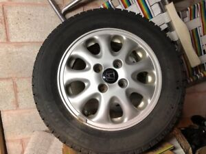 New Michelin X-ICE winter tires (Selling 4 tires with rims)