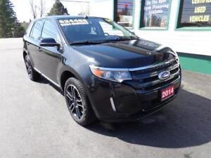 2014 Ford Edge SEL V6 AWD for only $264bi-weekly on 5 years!