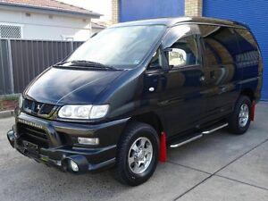2005 Mitsubishi Delica Spacegear Chamonix Black 4 Speed Automatic Wagon Taren Point Sutherland Area Preview