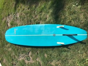"""9'0"""" Surfboard - Stamps high performance longboard"""