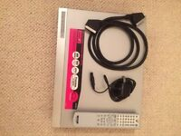 Sony DVD Recorder with Freeview RDR GDX 500, remote control, SCART lead, main lead. VGC
