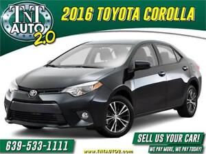 2016 TOYOTA COROLLA--APPLY FOR GUARANTEED INSTANT APPROVAL!