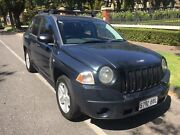 2008 Jeep Compass MK Sport Grey 5 Speed Manual Wagon Nailsworth Prospect Area Preview