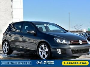 2011 Volkswagen Golf GTI NAVI MOONROOF BLUETOOTH HEATED SEAT 6-S