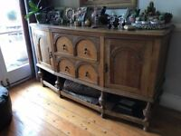 beautiful large vintage chest, sideboard for sale.
