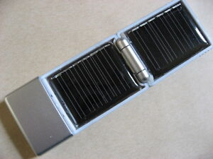 USB Solar Panel Charger for MP3, MP4, Cell Phone