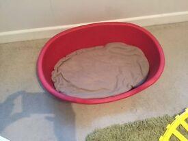Dog Bed- plastic