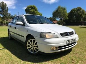 2003 Holden Astra TS MY03 CDX White 4 Speed Automatic Sedan Somerton Park Holdfast Bay Preview