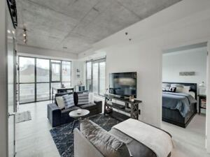 Rarely Available 1+Den with 753 SqFt + Private Terrace!