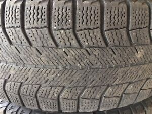 195/ 65 R 15 MICHELIN WINTER TIRES WITH STEEL RIMS