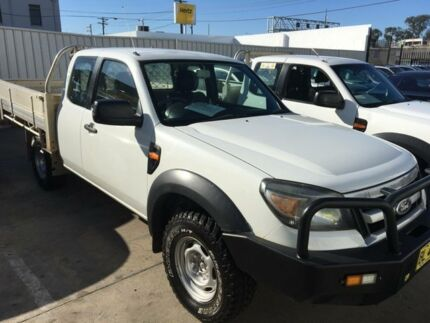 2011 Ford Ranger PK XL (4x4) 5 Speed Manual Super Cab Chassis