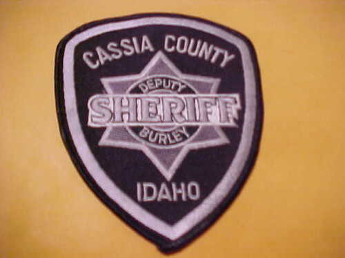 CASSIA COUNTY IDAHO POLICE PATCH SHOULDER SIZE UNUSED