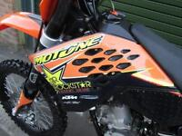 KTM SX 125 2008 MX MOTOCROSS BIKE